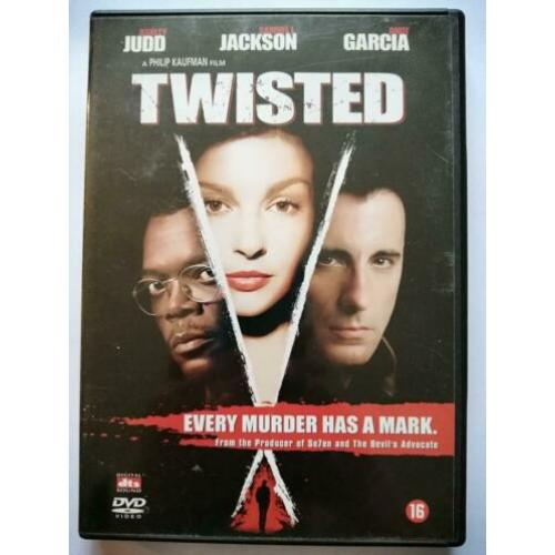 DVD - Twisted ( Samuel L Jackson Ashley Judd )