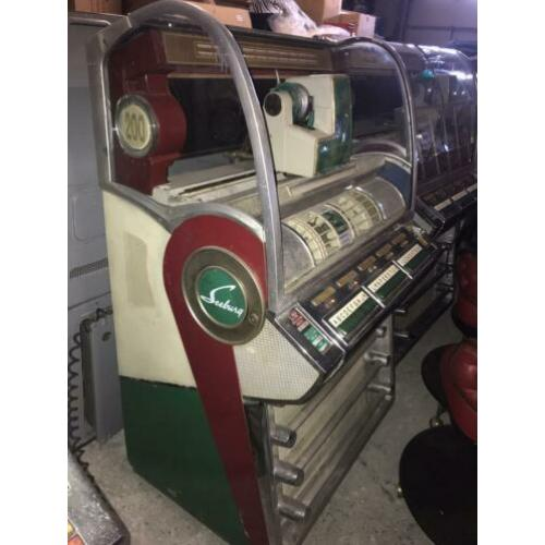 Seeburg V200 jukebox 1955 - opknapper
